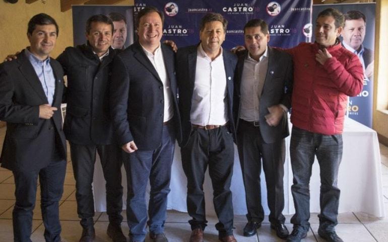líderes regionales respaldan candidatura parlamentaria de Juan Castro