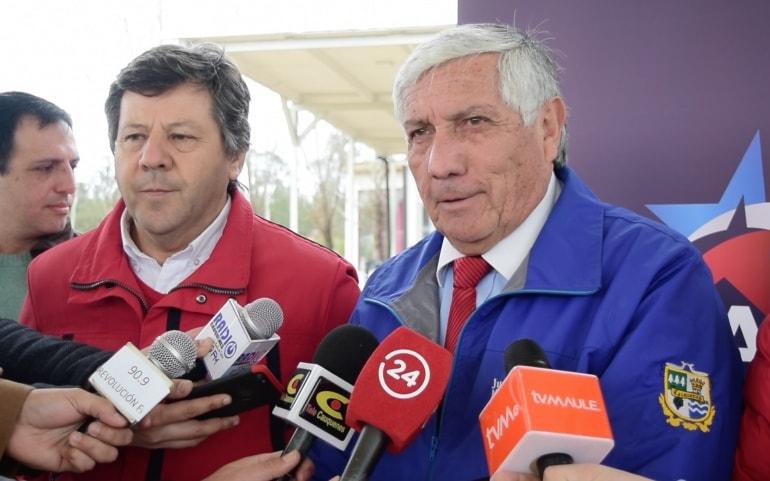 Juan Carlos Muñoz es presentado como jefe de campaña de Juan Castro en la provincia de Cauquenes